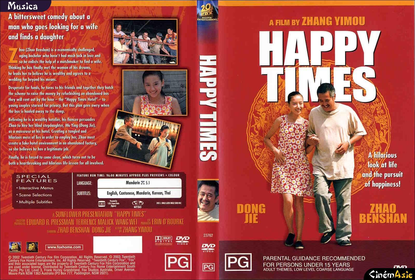 Dvd Happy Times 20th Century Fox Australie