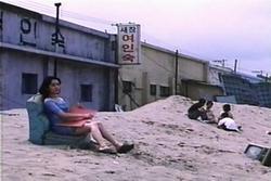 Scène de la plage de Birdcage Inn